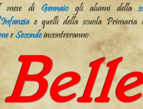 Incontro con Belle – 12-13-14 FEBBRAIO 2018