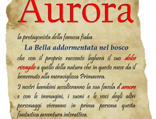 Incontro con Aurora – 22-23-24 MARZO 2018