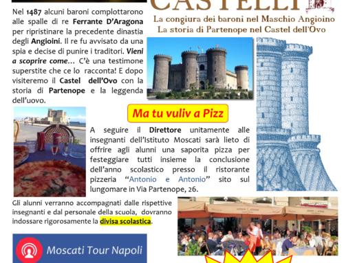 AVVISO: Gita ai Castelli Quinte Sez. A e B – 12 GIUGNO 2018